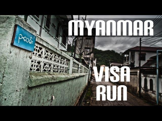 Visa Run from Chiang Mai to Burma Self Drive by car – Tachileik – 8MFH EP6