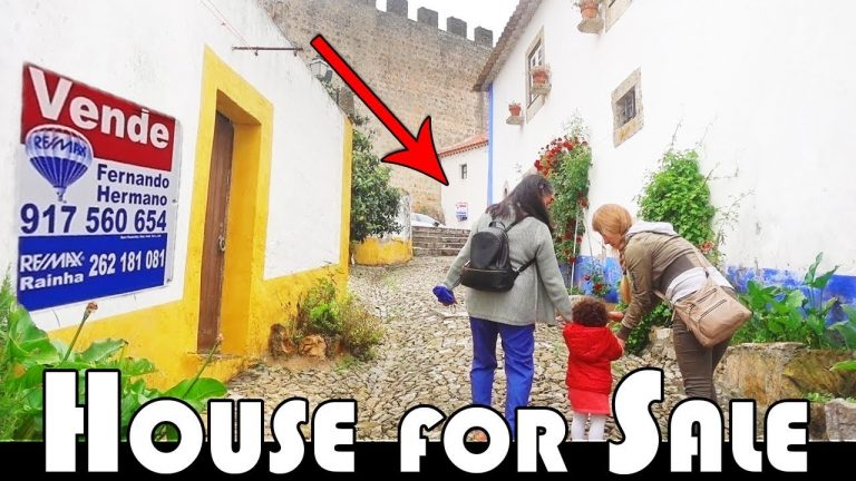 HOUSE FOR SALE IN ÓBIDOS – HISTORICAL CITY IN PORTUGAL – FAMILY DAILY VLOG
