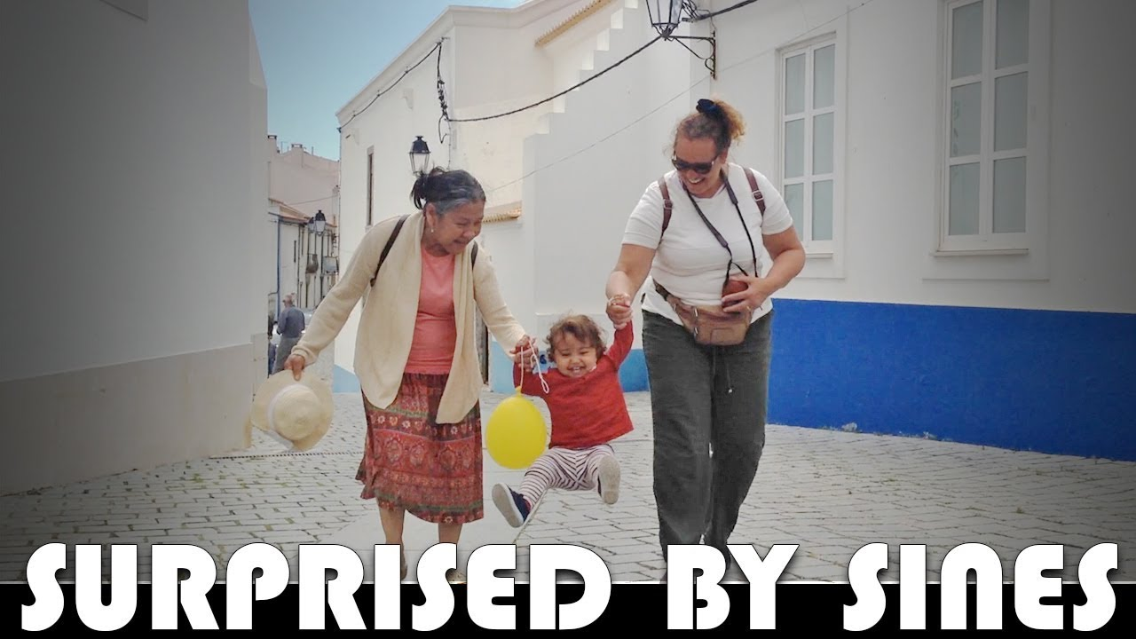 ON HOLIDAY IN PORTUGAL – SURPRISED BY SINES – FAMILY DAILY VLOG