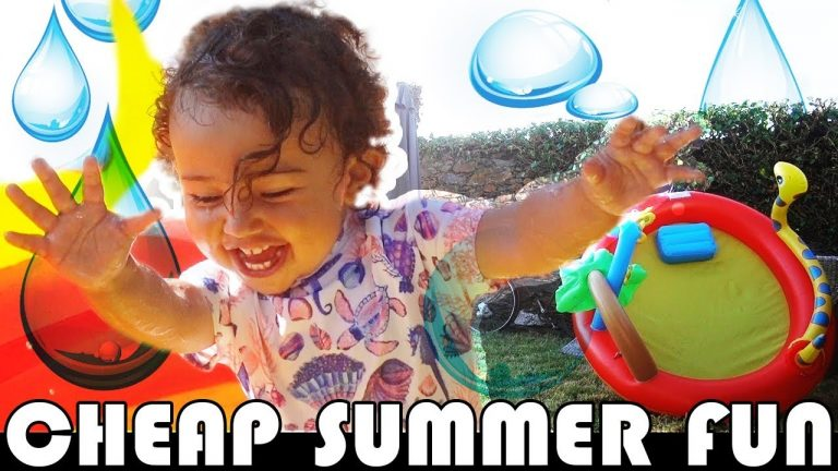 TODDLER GETS CHEAP €16 PADDLING POOL (Amazing Value) FAMILY DAILY VLOG