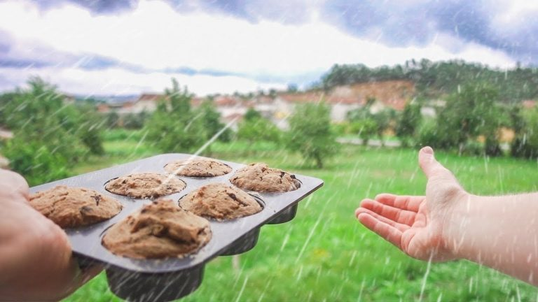How We Spend RAINY DAYS in PORTUGAL – & VEGAN Muffin RECIPE