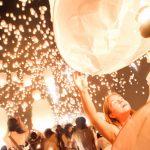 Yi Peng (ยี่เป็ง โคมลอย เชียงใหม่) Festival Chiang Mai (10000+ Sky Lanterns)