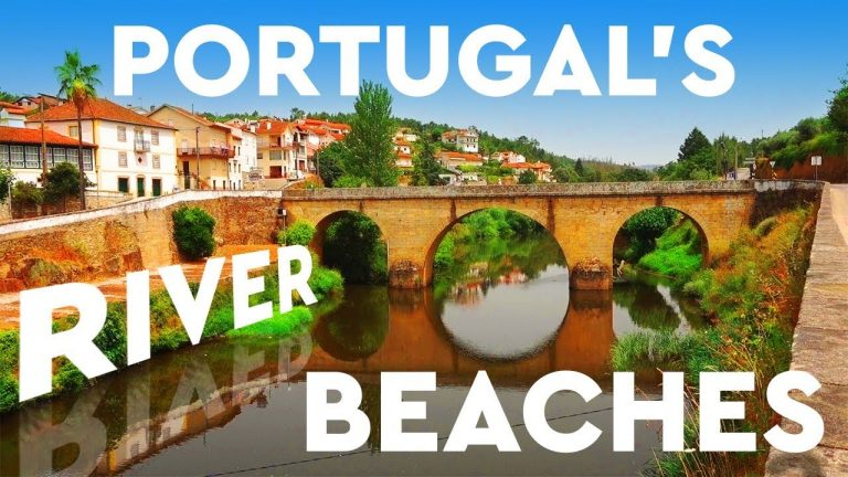 Portugal's AMAZING River Beaches – But This One Is PRIVATE