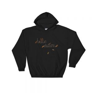 Hello Autumn Hooded Sweatshirt