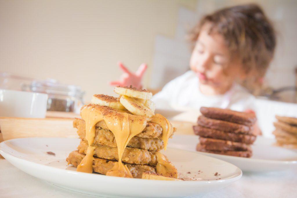 Vegan Pancakes 3 ways